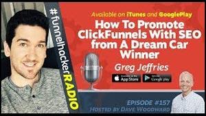 Greg Jeffries. ClickFunnels Dream Car Winner