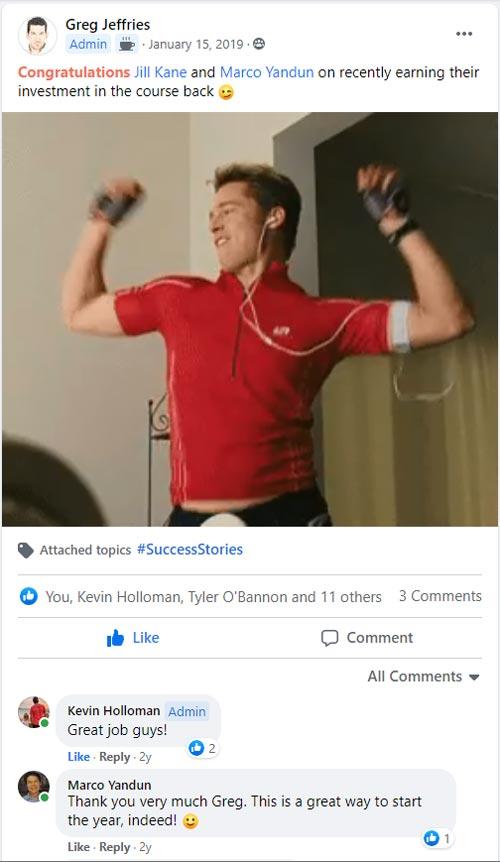 SEO Affiliate Domination Money Back Facebook Notification